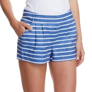 Vineyard Vines blue & white Striped Linen Shorts